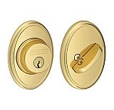 Schlage B60NWKF505 Single Cylinder Grade 1 Deadbolt with Decorative Wakefield Rose