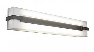 Access Lighting 31021-BS/ACR Sierra 2 Light Wall or Vanity Fixture