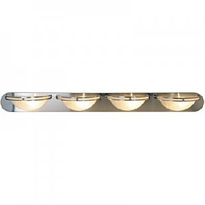 Monument Lighting 617619 Contemporary Fluorescent 4 Light Bathroom Vanity Light
