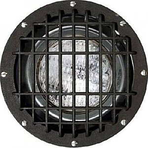 Dabmar Lighting FG4380-MED/GRL-MT Fiberglass In-Ground Well Light with Grill