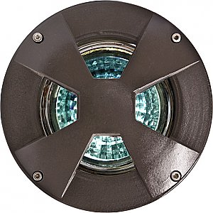 Dabmar Lighting LV307-MR Cast Aluminum Drive Over In-Ground Well Light in Bronze