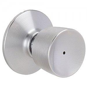 Antique Brass Schlage F40BEL609 Bell Privacy Door Knob Set