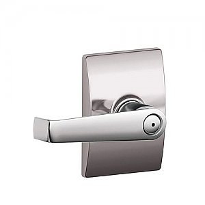 Schlage F40ELA626CEN F-Series Privacy Elan Door Leverset