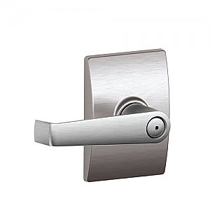 Schlage F40ELA625CEN F-Series Privacy Elan Door Leverset