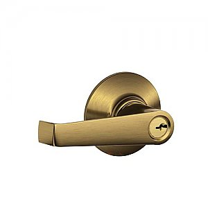 Schlage F51ELA609 F-Series Elan Single Cylinder Keyed Entry Door Leverset