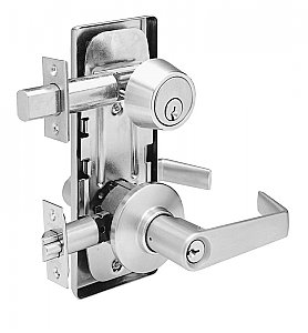 Schlage S210RD-SAT Alternate View1